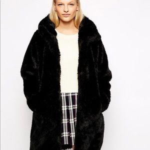 🆕ZARA Oversized Teddy Coat